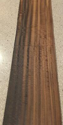 Fumed Eucalyptus Wood Veneer 5 Sheets 36 X 9.5 11 Sq Ft