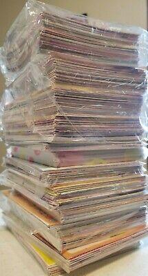 Kawaii Stationery 100 Mixed Memo Sheets Grab Bag + Free 20 Sticker Flakes