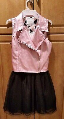 Sean John dress for tween girl/Faux pink vest with ballerina style dress/Girls - Dresses For Tweens