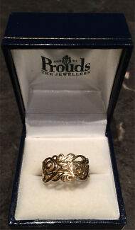 9ct Gold Ladies Dress Decorative Jewellery Ring