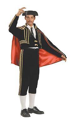 Matador Bull Fighter Spanish Mexican Cinco de Mayo Deluxe Mens Costume](Matador Costumes)