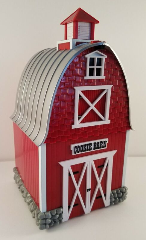 Barn Cookie Jar Plays Green Acres Theme Plastic Musical Very Clean