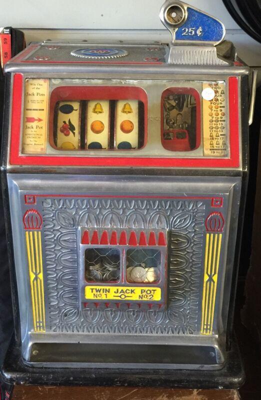 Antique 0.25 Cent Watling Slot Machine Refurbished