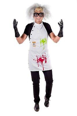 Scientist Costume For Halloween (Adult Mad Scientist Fancy Dress Costume KIT Crazy Professor for Halloween)