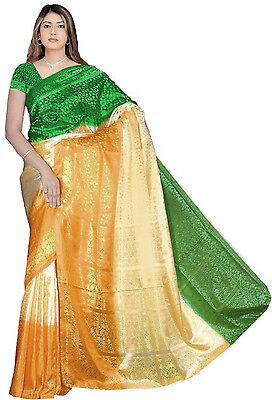Tricolor Bollywood Karneval Sari Orient Indien CA127