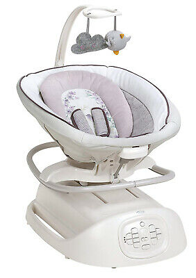 Graco Baby Sense2Soothe Swing with Cry Detection Rocker Soother Birdie NEW comprar usado  Enviando para Brazil