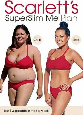 * NEW SEALED Fitness Workout DVD * SCARLETT MOFFAT'S SUPERSLIM ME PLAN