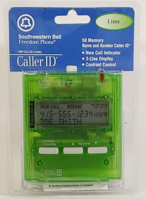 New Southwestern Bell Freedom Phone Caller ID FM112 LLCS  50 Memory Lime Green