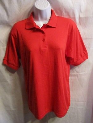 Bealls Florida Red Polo Shirt Misses Size S Nwt