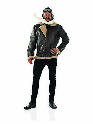 ot Costume Adult Wartime Army Fancy Dress M L XL Biggles 40s (Ww2 Pilot Kostüm)