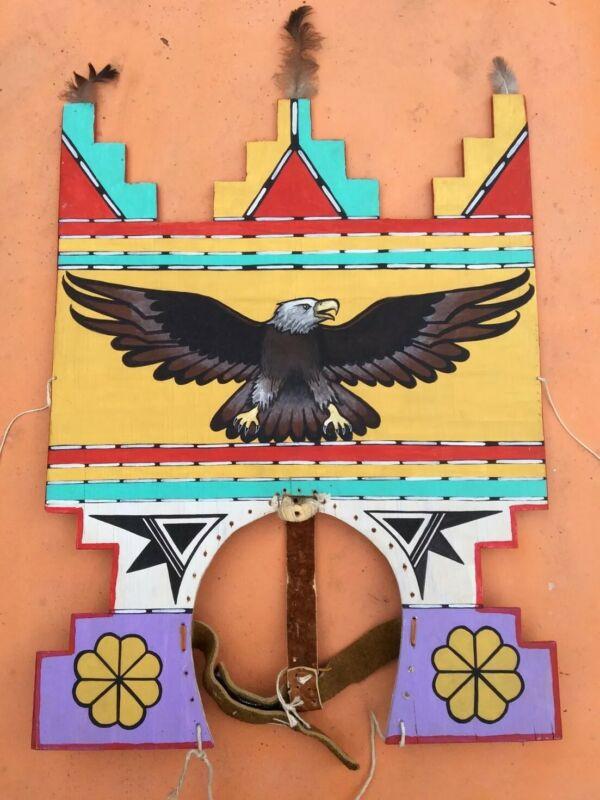 Hopi Kachina Tableta Vintage Native American Kachina Dance Headdress