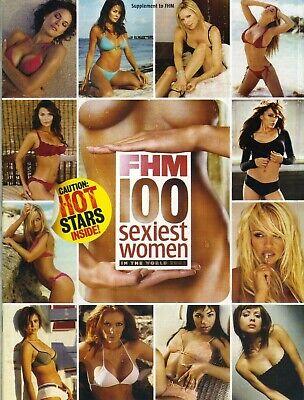 FHM MAGAZINE 100 SEXIEST WOMEN IN THE WORLD 2003 PAMELA ANDERSON ALYSSA MILANO