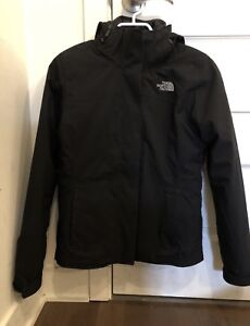 North face triclimate carto woman xs femme noir