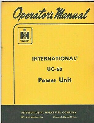 Vintage Original 1959 Parts Catalog For Td-6 Td-9 Crawler Tractors Ihc Tc-78