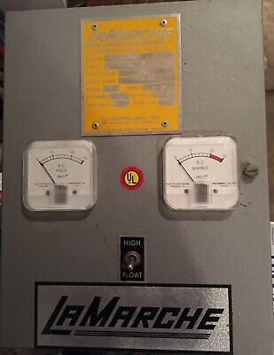 Generator Battery Charger - Lamarche 24 Vdc 6 Amp 12 Cell Lead Acid Ats218