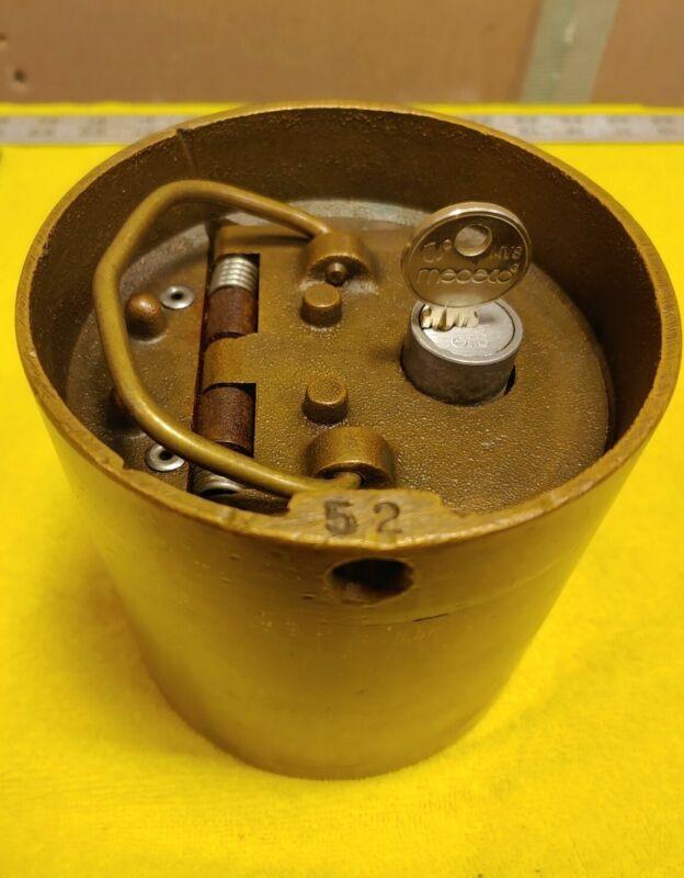 Bronze Brass In-Floor Safe