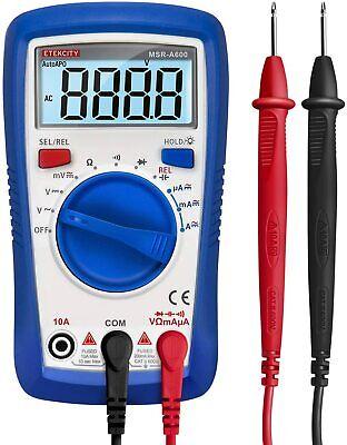 Etekcity Digital Multimeter Ac Dc Voltmeter Ammeter Ohmmeter Tester Msr-a600