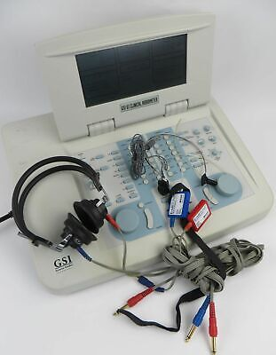 Grason Stadler Gsi 61 2-ch Clinical Audiometer Ref 1761-97xx W Headsets More