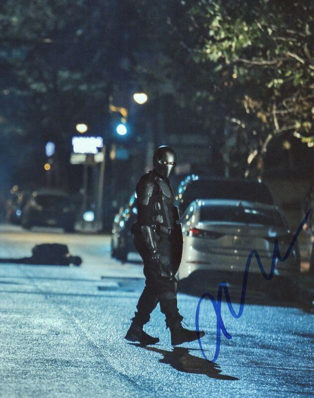 Mechad Brooks Supergirl Autographed Signed 8x10 Photo COA #5