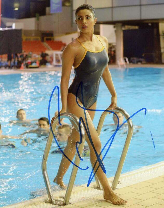 "Priyanka Chopra ""Quantico"" AUTOGRAPH Signed 8x10 Photo C ACOA"