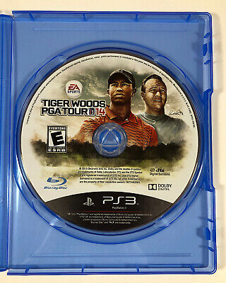 Tiger Woods PGA Tour 14 (Sony PlayStation 3, 2013) PS3 - Fast Shipping
