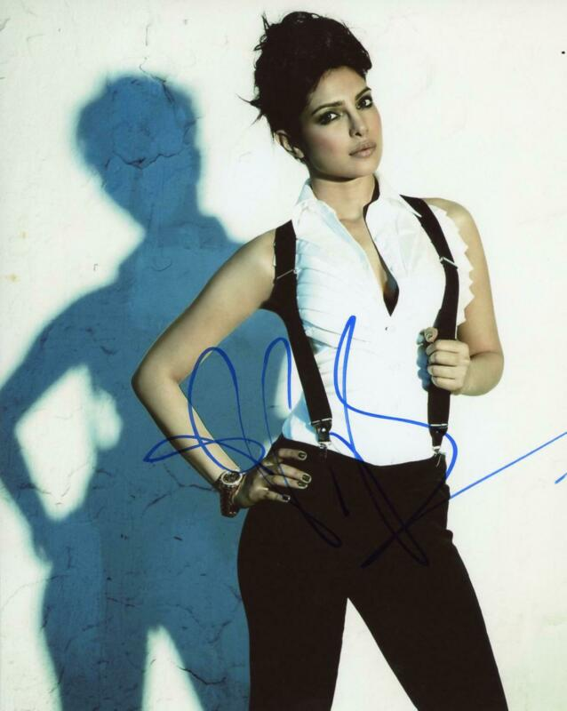 Priyanka Chopra AUTOGRAPH Signed 8x10 Photo B ACOA