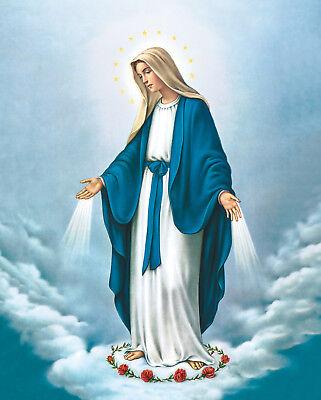 Religious catholic icon Holy Mary Immaculate Matka Boska Niepokalana