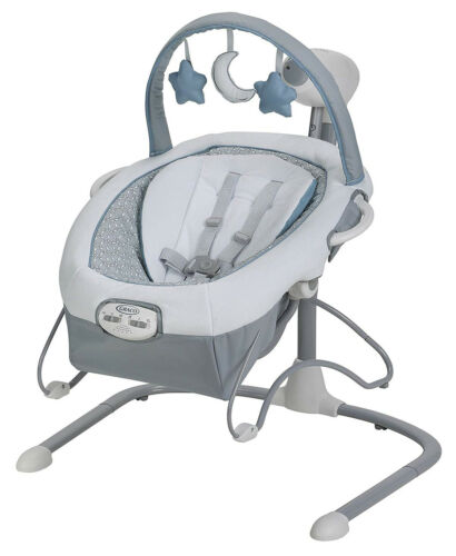 Graco Baby Duet Sway LX Swing with Portable Bouncer Alden NEW