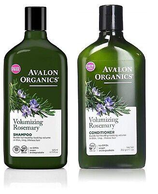 Avalon Volumizing Conditioner (Avalon Organics Volumizing Rosemary Shampoo & Conditioner 325ml)