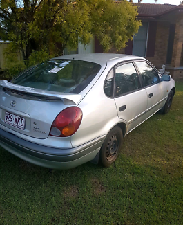 1999 Toyota Corolla Conquest Hatchback - comes with blue slip