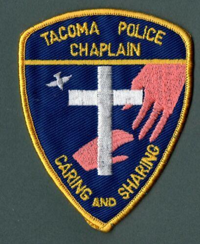 Tacoma Washington Police Patch  *Chaplain*
