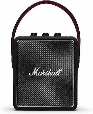 Marshall Stockwell II Portable Bluetooth Speaker 20W Stereo Sound Black RRP £220