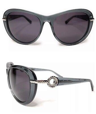 New JewelPop Kameleon Sunglasses Swarovski Crystals UV400 Grey (Kameleon Sunglasses)