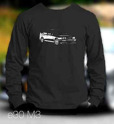 New Bmw E30 M3 Long Sleeve Shirt