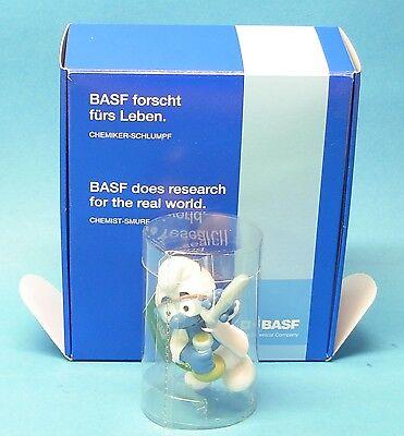 BASF forscht BOX MiB Schlumpf Dr. Dinch Fähnchen dunkelgrün promo pub Werbung online kaufen
