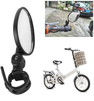 2 Unid. Lenkspiegel Set Espejo de Bicicleta Retrovisores para Moto Eléctrica MTB