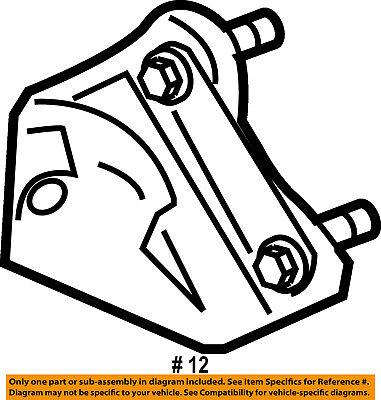 FORD OEM 08-10 F-450 Super Duty Steering Gear-Damper Bracket 8C3Z3E652A