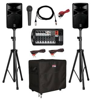 Lakan Sound Hire - Speaker Hire Packages