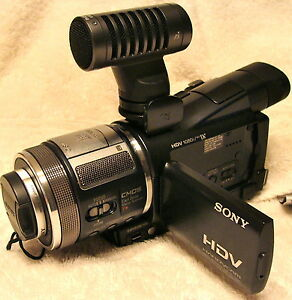Sony hdr hc9 hdv 1080i manual