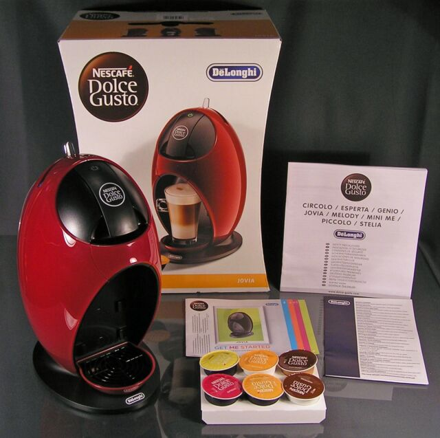 DeLonghi Jovia Rot EDG 250.R Nescafé Dolce Gusto Kaffee/- Kapselmaschine NEU