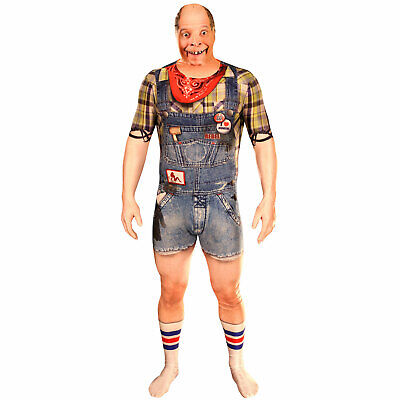 Hinterwäldler Morphsuit Herren Karneval Fasching Festival Kostüm Hillbilly