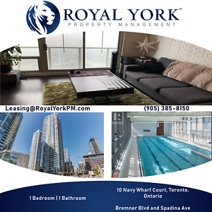 UPGRADED 1 BED FOR RENT @ TORONTO|ROGERS CENTRE|CN TOWER