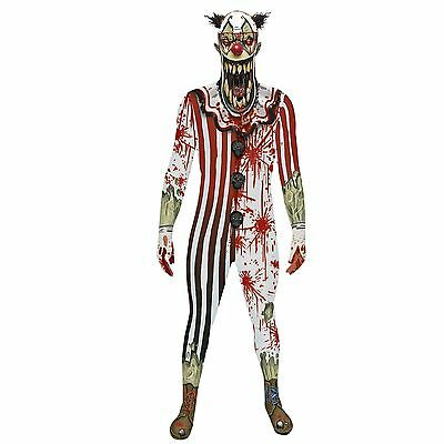 Zombie Clown Jaw Dropper Morphsuit for Adults size XL New by Morphsuit (Morphsuit Clown)