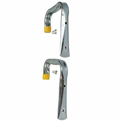 Lawn Mower Storage Shed - 2 Large Tool Storage Hooks Fixings For Ladders Bikes Lawnmowers Garage Shed