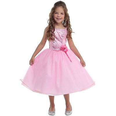 Cheap Girls Pink Fairytale Princess Fancy Dress Costume Party Christmas - Dress Up Costumes Cheap