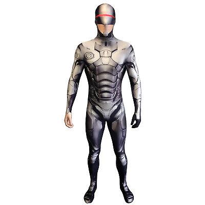AUSVERKAUF Robocop Morphsuit L Herren Karneval Fasching Festival Kostüm