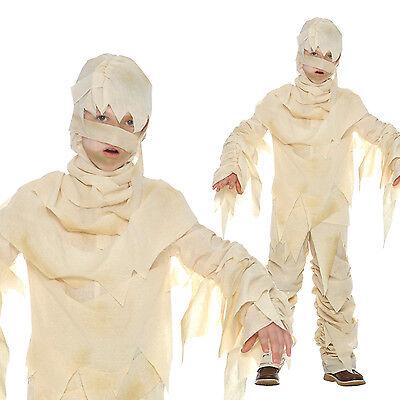 Kids Egyptian Mummy Costume For Boys or Girls Halloween Book Week Fancy Dress](Mummy Costumes For Halloween)