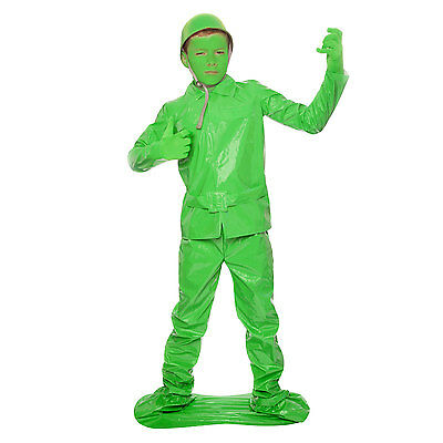 Army Dress For Kids (Boys Toy Soldier Fancy Dress Costume Kids Army Military Great for Book Week)