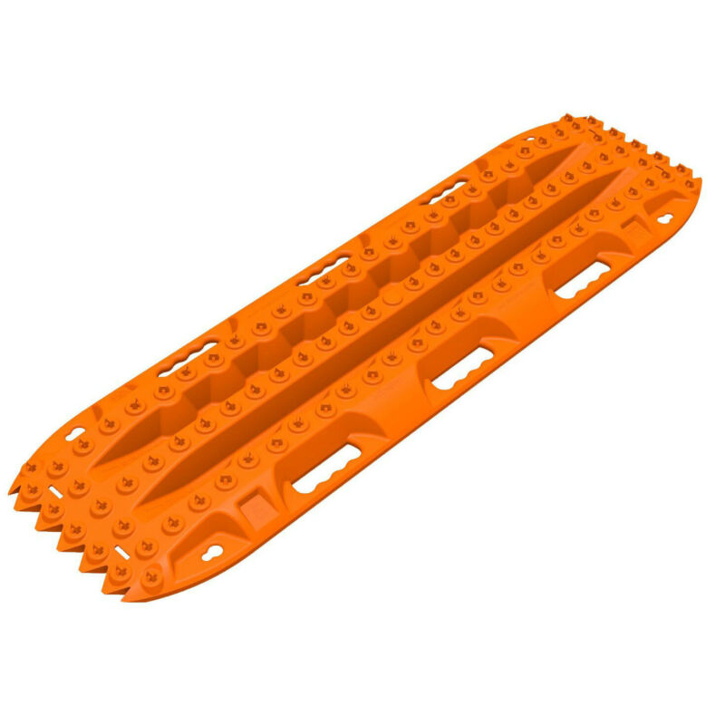 ActionTrax AT1O Pair of Self Recovery Track System for Snow and Sand, Orange