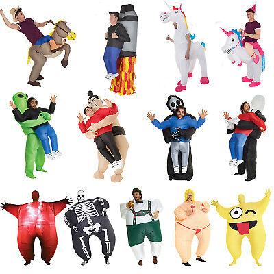 AUFBLASBARES PICK ME UP™ KOSTÜM Witzig Karneval Fasching Verkleidung Festival
